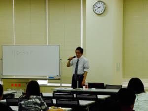 諸富先生の講義