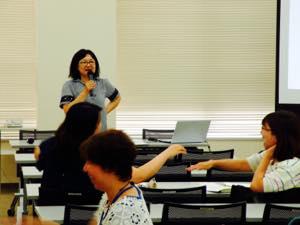 品田先生の講義
